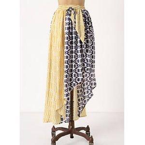 NWOT {Anthro} Asymmetric Skirt